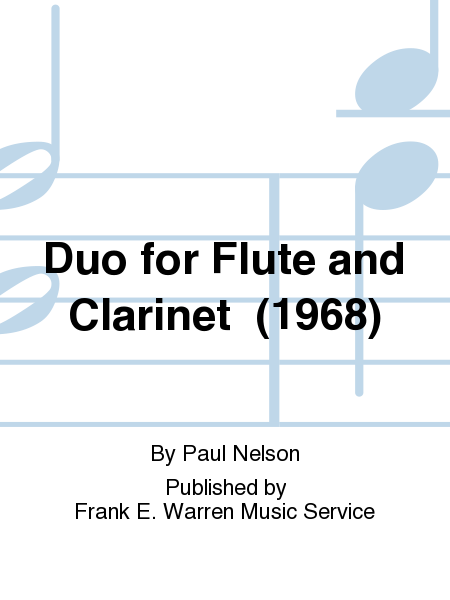 Duo for Flute and Clarinet  (1968)