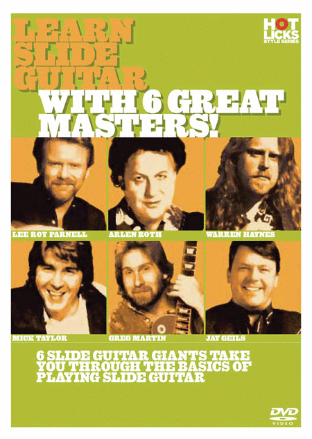 Learn Slide Guitar with 6 Great Masters!