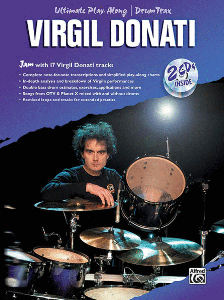 Virgil Donati (Book & 2 CDs)