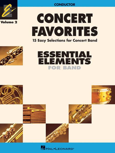 Concert Favorites, Volume 2 - Conductor