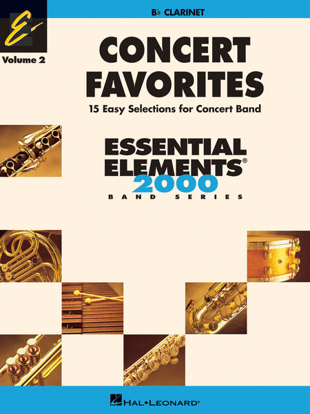 Concert Favorites Vol. 2 - Clarinet
