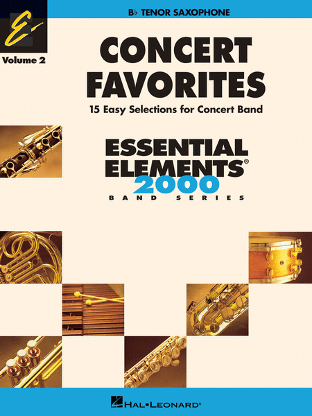 Concert Favorites Vol. 2 - Tenor Sax