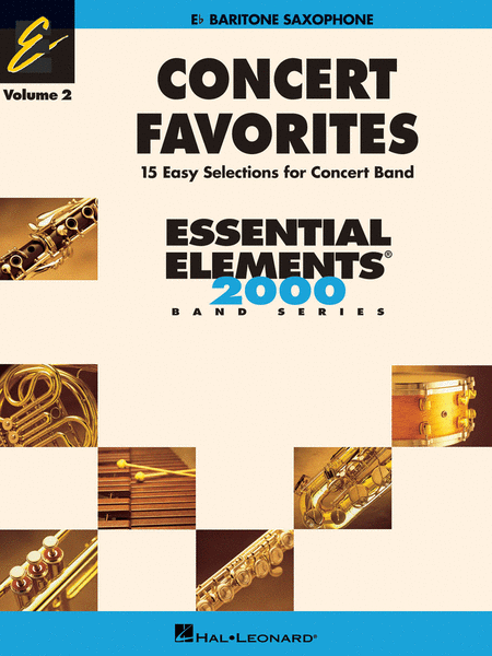 Concert Favorites Vol. 2 - Baritone Sax