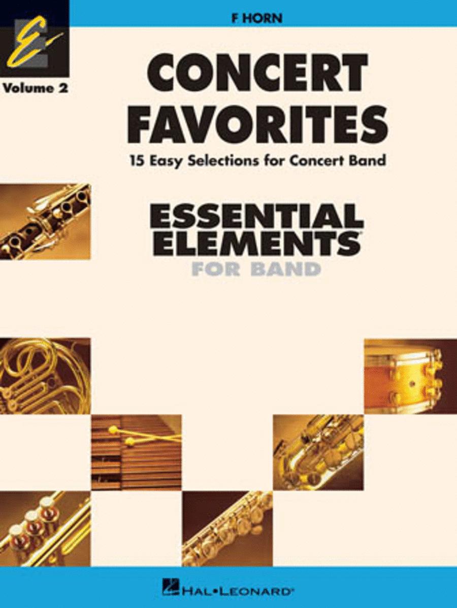Concert Favorites Vol. 2 - F Horn