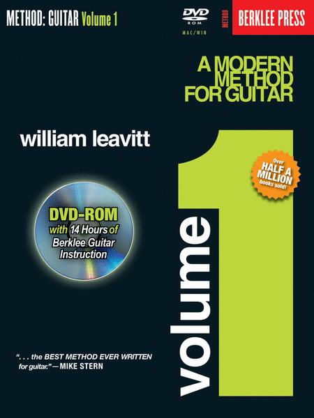 A Modern Method for Guitar - Volume 1