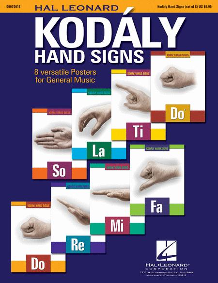 Hal Leonard Kodaly Hand Signs