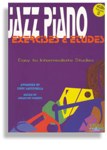 Jazz Piano Exercises & Etudes with CD * Book 1