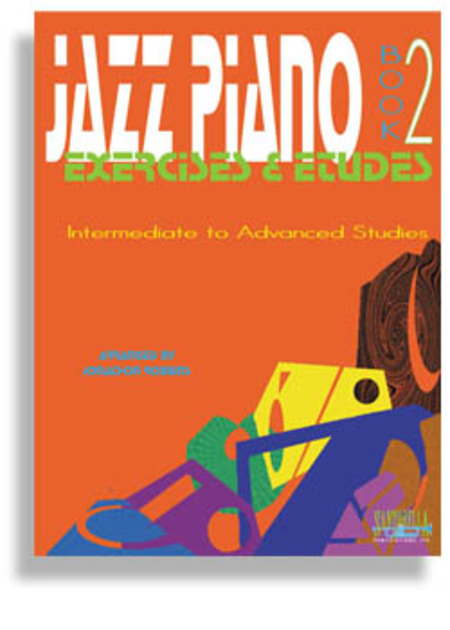 Jazz Piano Exercises & Etudes with CD * Book 2