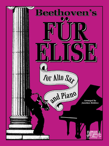 Piano fur elise piano tabs : Beethoven's Fur Elise For Alto Sax And Piano