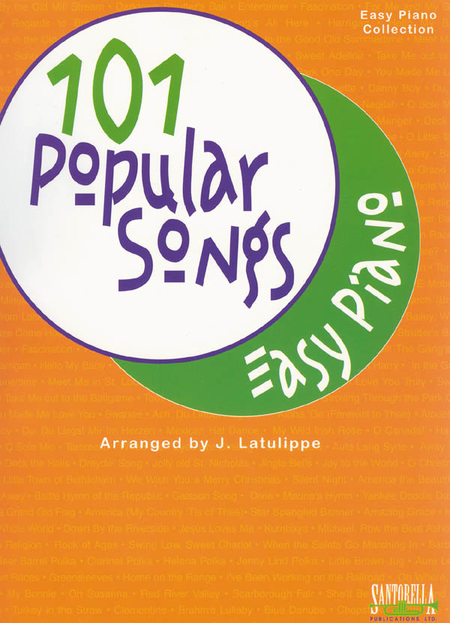101 Popular Songs for Easy Piano