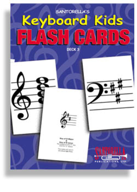 Keyboard Kids Flashcards * Deck 3