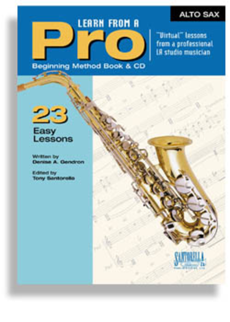 Learn From A Pro for Alto Sax with CD