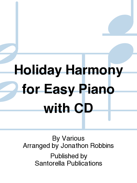 Holiday Harmony for Easy Piano with CD