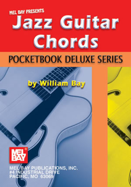 Jazz Guitar Chords, Pocketbook Deluxe Series