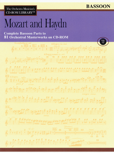 Mozart and Haydn - Volume VI (Bassoon)