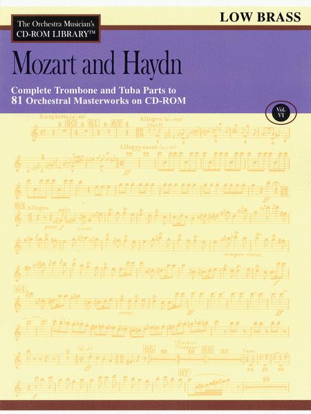 Mozart and Haydn - Volume VI (Low Brass)