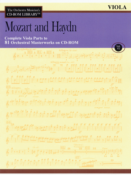 Mozart and Haydn - Volume VI (Viola)