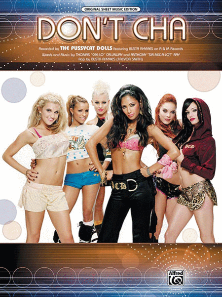 Dont Cha Noter af Pussycat Dolls - Noder Plus-3096