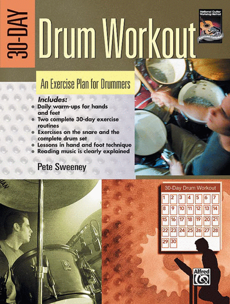 30-day Drum Workout (Book and DVD)