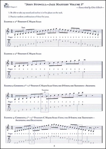 John Stowell Jazz Guitar Mastery