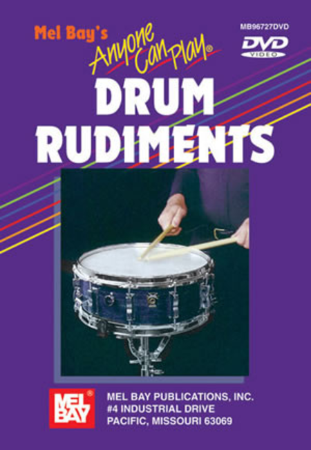 Anyone Can Play Drum Rudiments