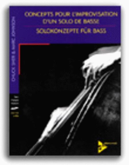 Concepts Pour L'Improvisation D'Un Solo De Basse (French and German edition)