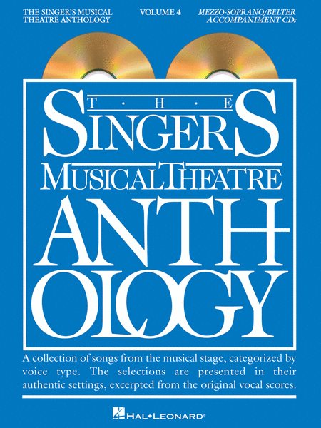 The Singer's Musical Theatre Anthology - Volume 4 - Mezzo-Soprano (CD only)