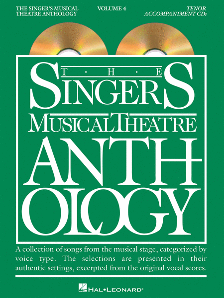 The Singer's Musical Theatre Anthology - Volume 4 - Tenor (CD only)