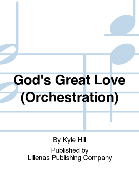 God's Great Love (Orchestration)
