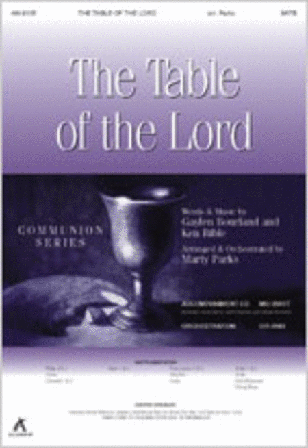 The Table of the Lord (Anthem)
