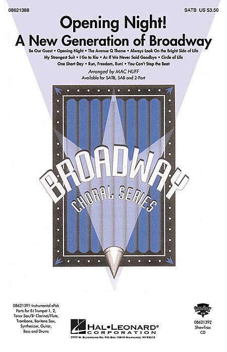 Opening Night - ShowTrax CD