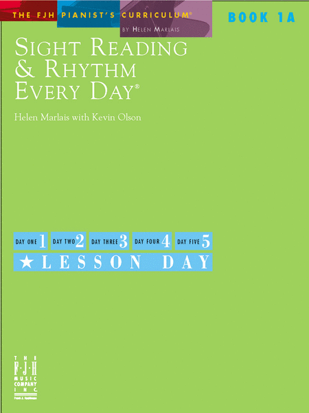 Sight Reading & Rhythm Every Day, Book 1A