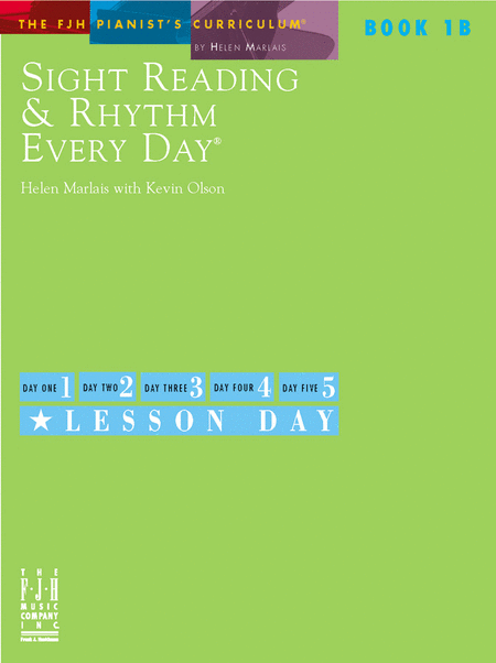Sight Reading & Rhythm Every Day, Book 1B