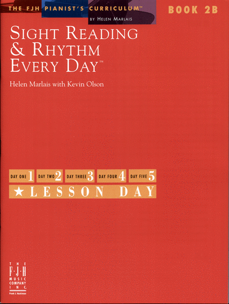 Sight Reading & Rhythm Every Day!, Book 2B