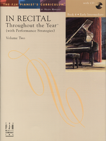 In Recital! Throughout the Year (with Performance Strategies) Volume Two, Book 4 (NFMC)