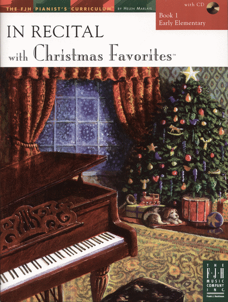 In Recital! with Christmas Favorites, Book 1