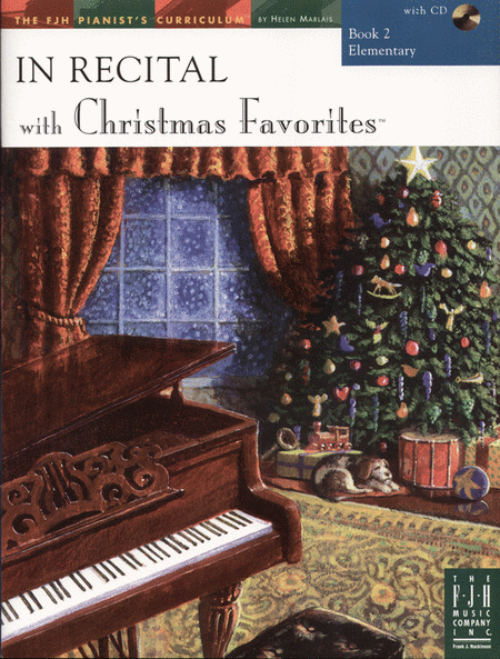 In Recital! with Christmas Favorites, Book 2
