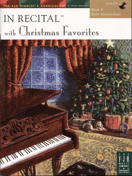 In Recital! with Christmas Favorites, Book 4