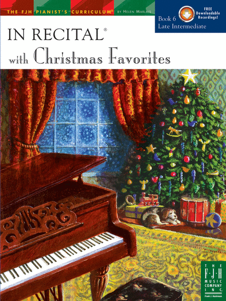 In Recital with Christmas Favorites, Book 6