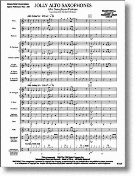 Jolly Alto Saxophones