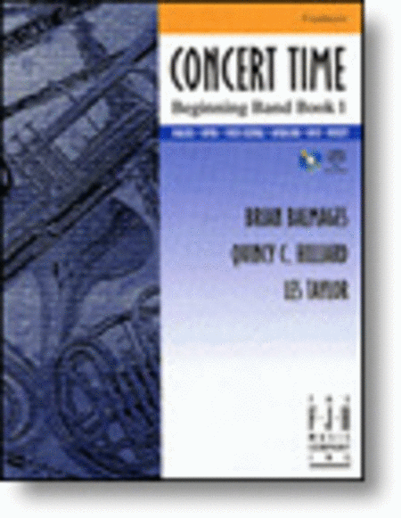 Concert Time Beginning Band Book 1 - Conductor