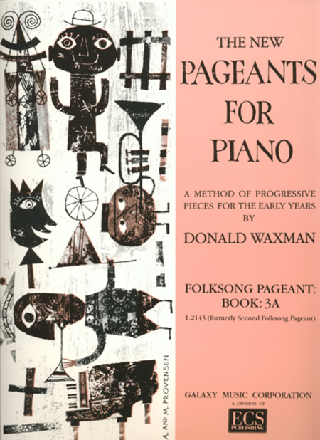 Folksong Pageant, Book 3A
