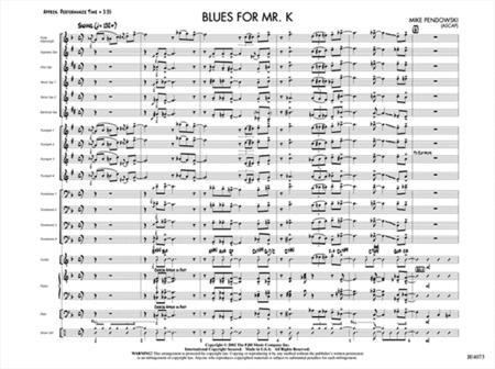 Blues for Mr. K