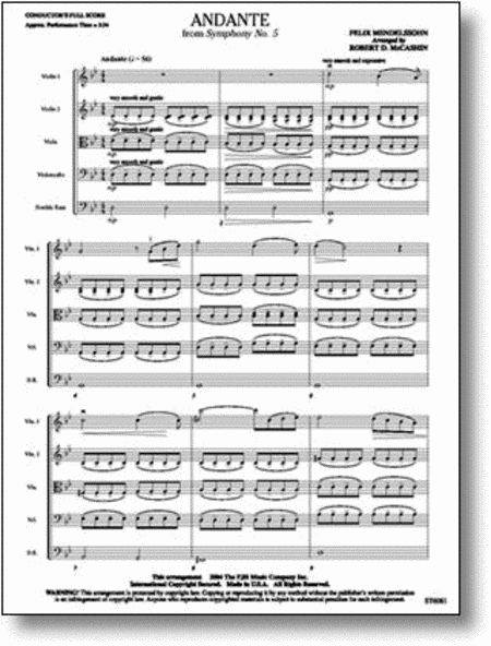 Andante from Symphony No. 5