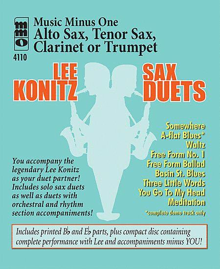 Lee Konitz Sax Duets