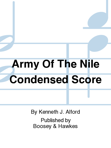 Army Of The Nile Condensed Score