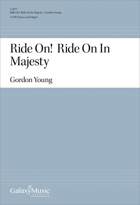 Ride On! Ride On In Majesty
