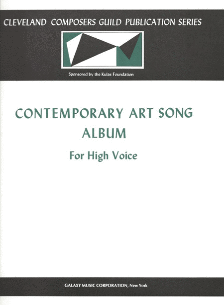 Contemporary Art Song Album, Book 1
