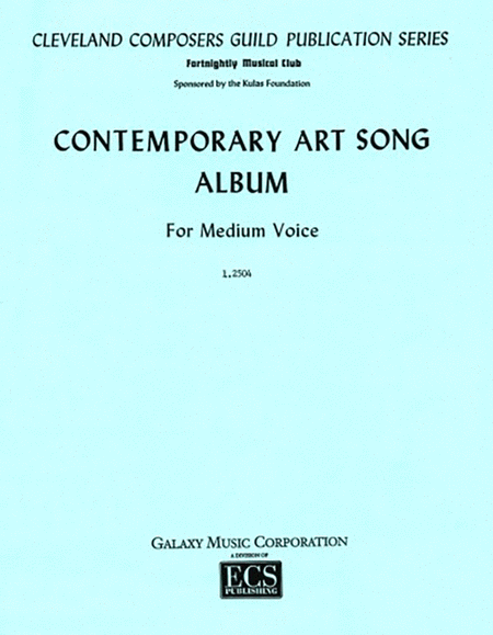 Contemporary Art Song Album, Book 2