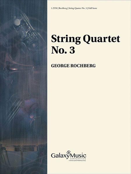 String Quartet No. 3 (Score)